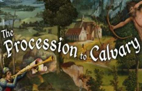 Solution pour The Procession to Calvary, réflexion dans la renaissance